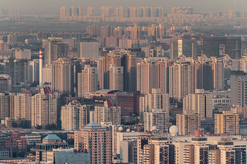 The northern reaches of Beijing's Chaoyang district. (Haidian, Beijing, CN - 11/12/13, 4:21:27 PM)