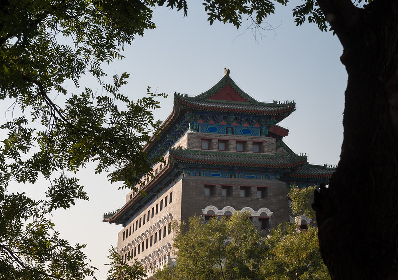 The Qianmen Archery Tower. (Xicheng, Beijing, CN - 10/23/13, 3:12:57 PM)