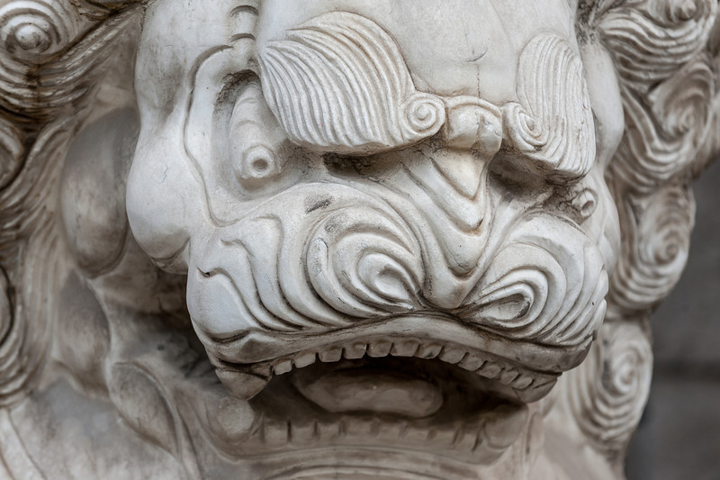 A fierce Beijing lion. (Dongcheng, Beijing, CN - 10/22/13, 9:16:37 AM)