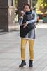 A multitasking Beijing resident strolls along Wangfujing Street (Dongcheng, Beijing, CN - 10/24/13, 9:22:59 AM)