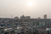 Sunset over Yanshi. (Yanshi, Luoyang, Henan, CN - 10/28/13, 4:23:54 PM)