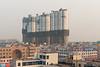 "A ""Big City"" high-rise apartment complex is under construction in little ol' Yanshi. (Yanshi, Luoyang, Henan, CN - 10/28/13, 4:23:42 PM)"