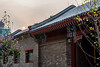 The sun descends over a restored hutong on a smoggy Beijing evening. (Dongcheng Qu, Beijing, CN - 07/09/15, 6:47:00 PM)