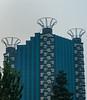 Distinctive modern architechture in Beijing's Dongcheng district. (Dongcheng, Beijing, CN - 07/08/15, 5:49:23 PM)