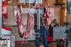 A shopkeeper slices up some fresh lamb meat. (Beiguan Qu, Anyang Shi, Henan Sheng, CN - 10/25/16, 3:14:59 PM)