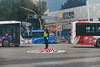 A traffic control officer at work in central Anyang. (Beiguan Qu, Anyang Shi, Henan Sheng, CN - 10/26/16, 4:28:09 PM)