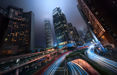 Hong Kong City Lights