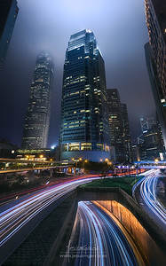 Hong Kong City Lights II
