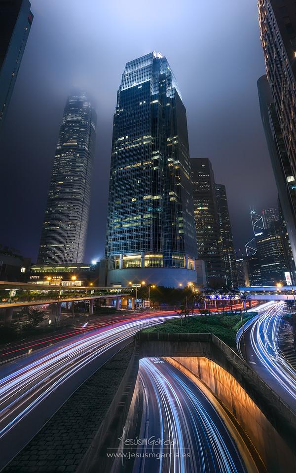 Hong Kong City Lights II