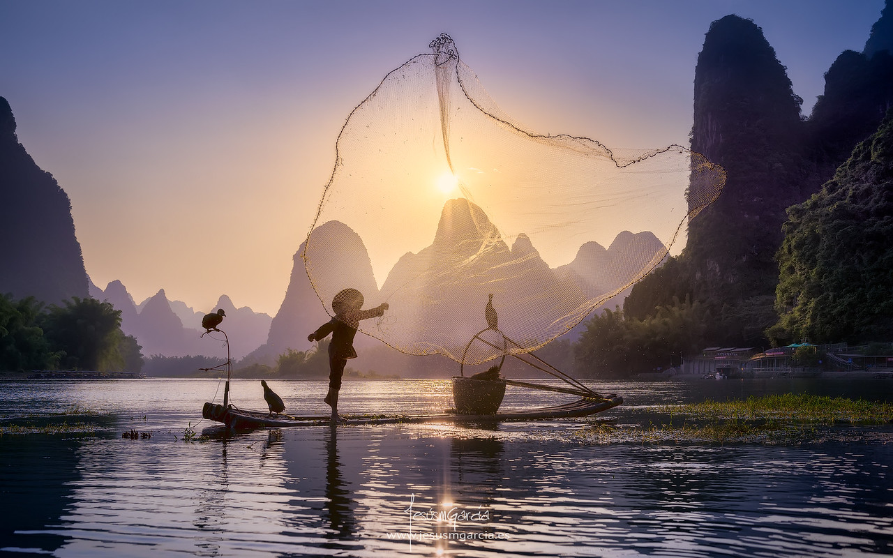 Fishing the Sun