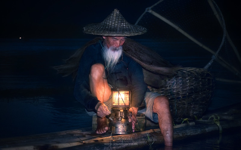 The Old Fisherman -China