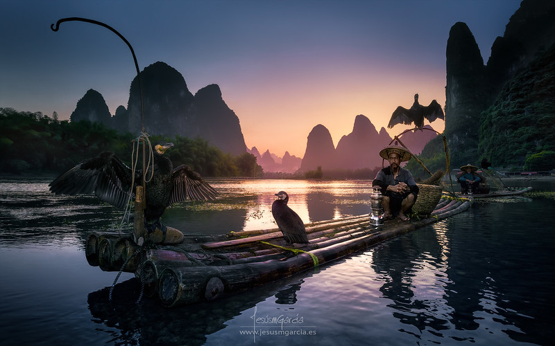 Cormorants and Fishermen