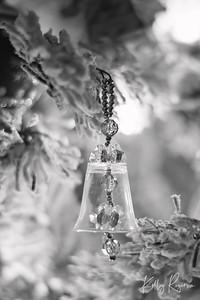 Christmas Ornament  Black & White Series