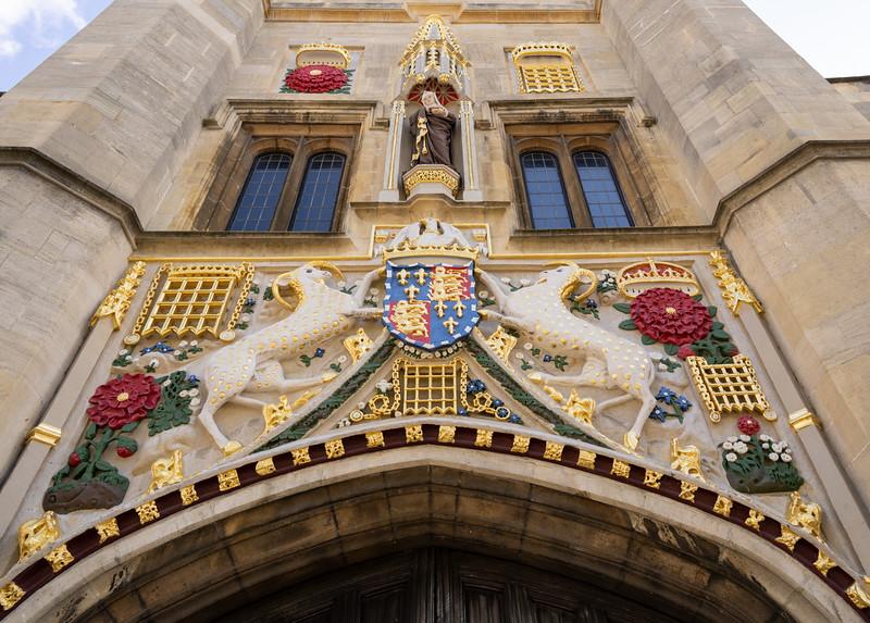 Entrance to Christ's College, Cambridge (Sep 2021)