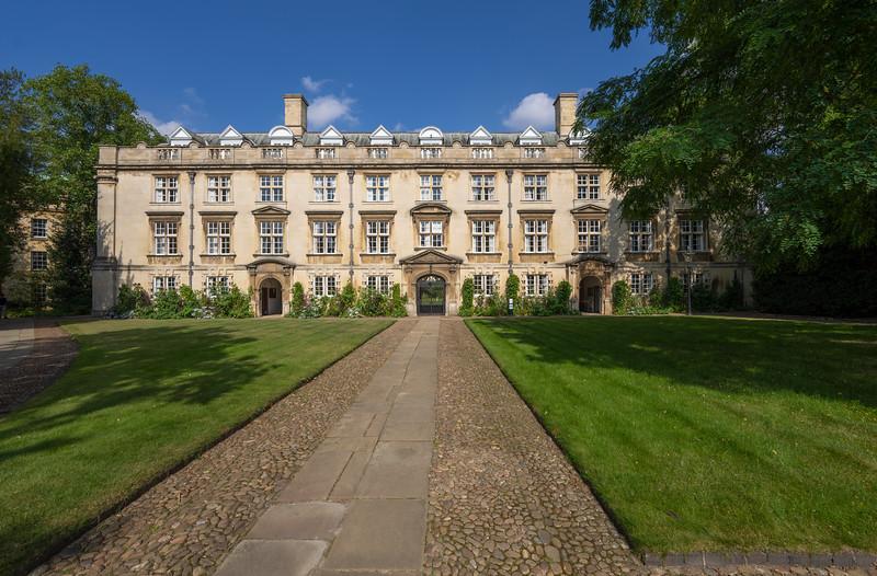 Second Court of Christ's College, Cambridge (Sep 2021)