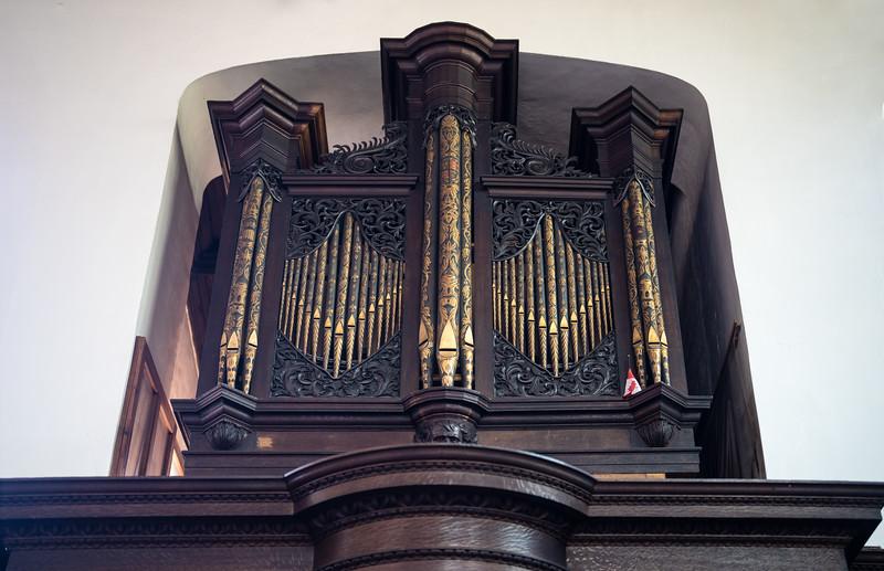 Organ at Chapel of Christ's College, Cambridge (Sep 2021)