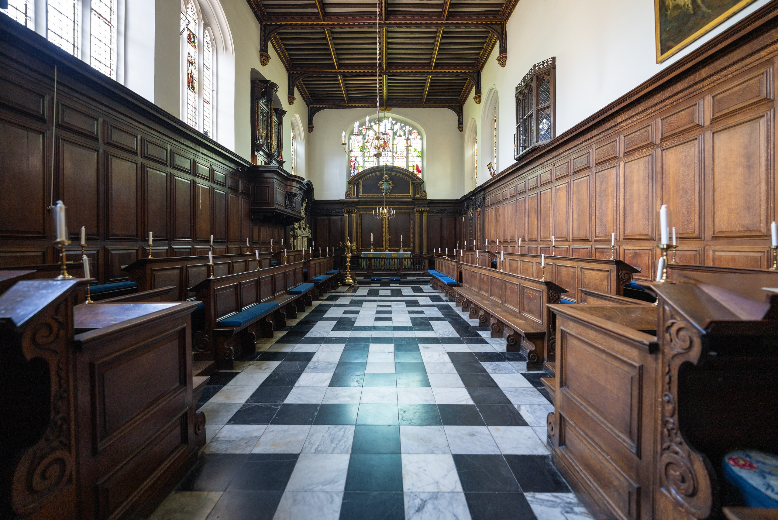 Chapel of Christ's College, Cambridge (Sep 2021)