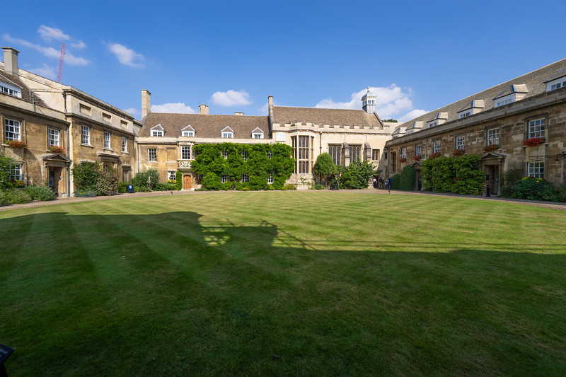 First Court of Christ's College, Cambridge (Sep 2021)