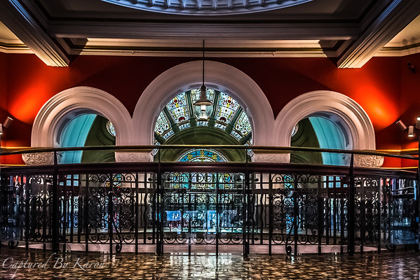 Stained Glass Window, QVB