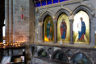 The shrine of St David.