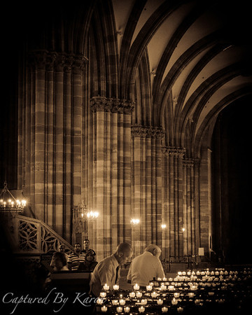 Candles, Strasbourg Cathedral