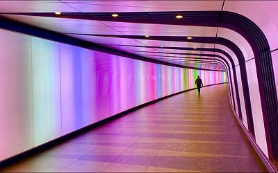 Walking the Light Tunnel
