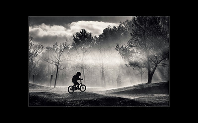 Child Cyclist