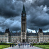 Storm Skies over the Peace Tower
