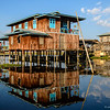 Floating village, Inle Lake