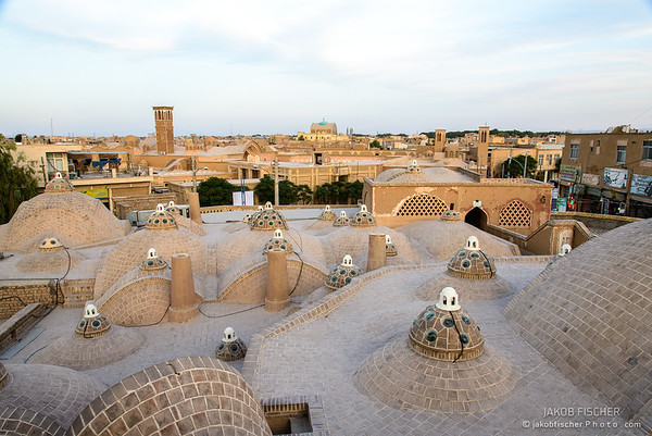 rooftop of Mir-Ahmad Hamam