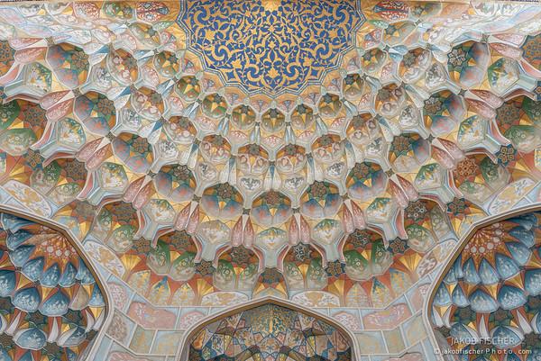 Muqarnas of the Abdulaziz Khan Madrasah