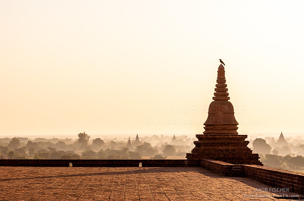 Bagan at sunrise