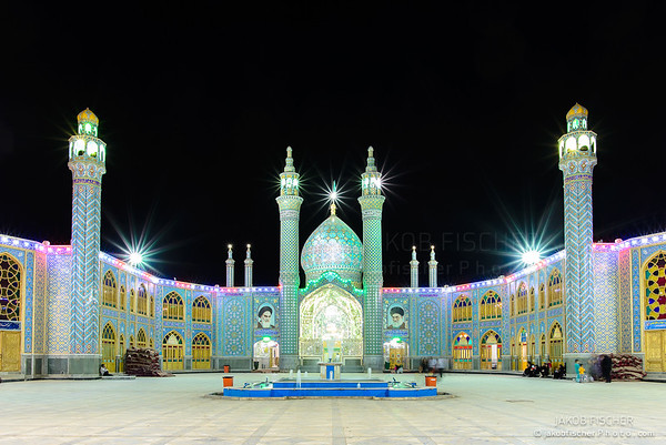 Holy shrine of Imamzadeh Helal Ali in Aran va Bidgol