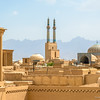 View over Yazd