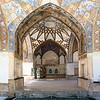 KASHAN, IRAN - AUGUST 25, 2016: Fin Garden - one of the UNESCO world heritage sites