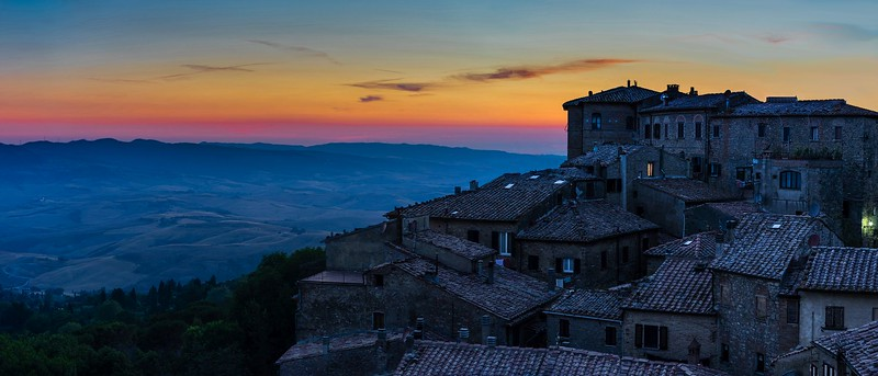 Volterra, The Blue Hour | Tuscany
