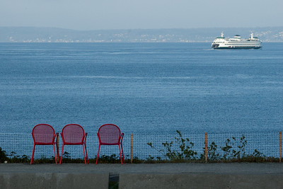 WSF Ferry and Chairs
