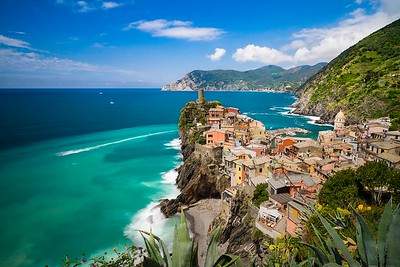 Colors of the sea | Vernazza, Liguria
