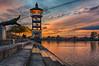 Borneo sunset in Kuching