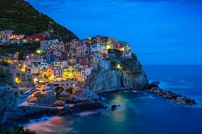 Manarola, The Blue Hour | Liguria