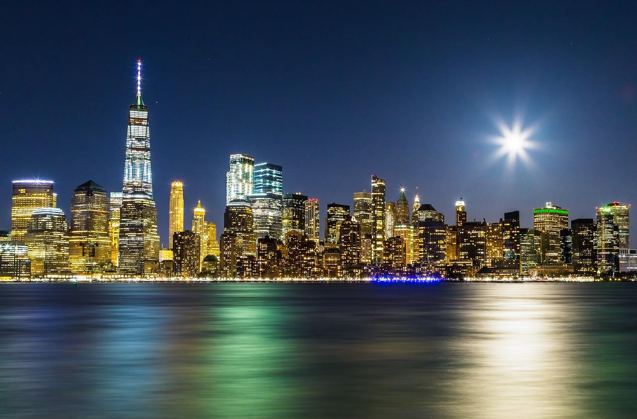 Moonrise NYC