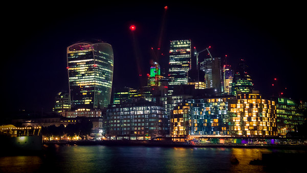 London Skyline In Colour