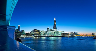 View of The Shard from Tower Bridge