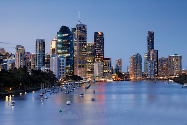 Brisbane in Blue