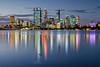 Perth City At Dusk
