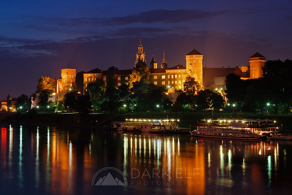Evening at the Wawel Castle