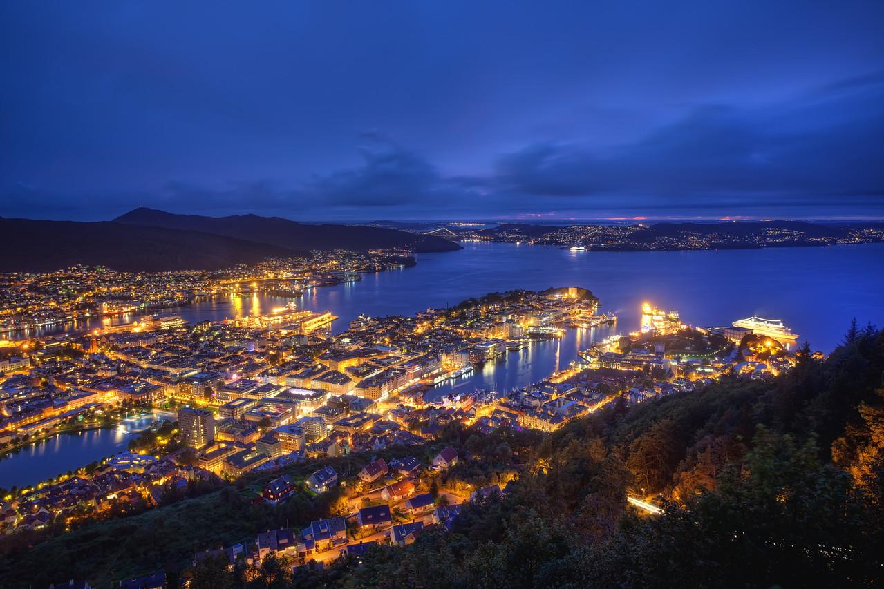 Night-time Norway