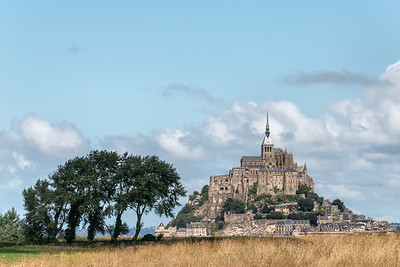 Mont-Saint-Michel - Beauvoir, France - August 14, 2018