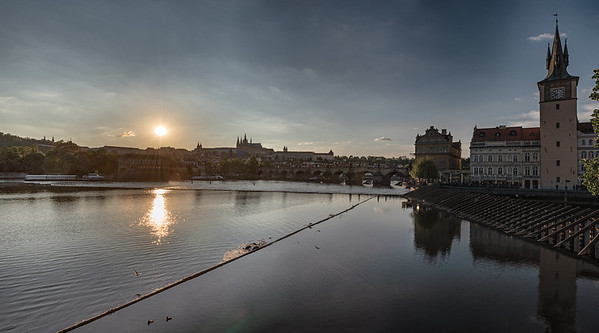 Sunset - Prague, Czech Republic - May 17, 2019