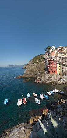 Riomaggiore - La Spezia, Italy - August 29, 2015